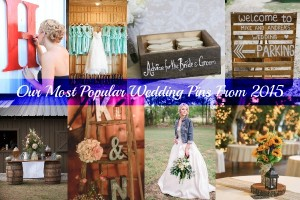 Our Most Popular Wedding Pins From 2015