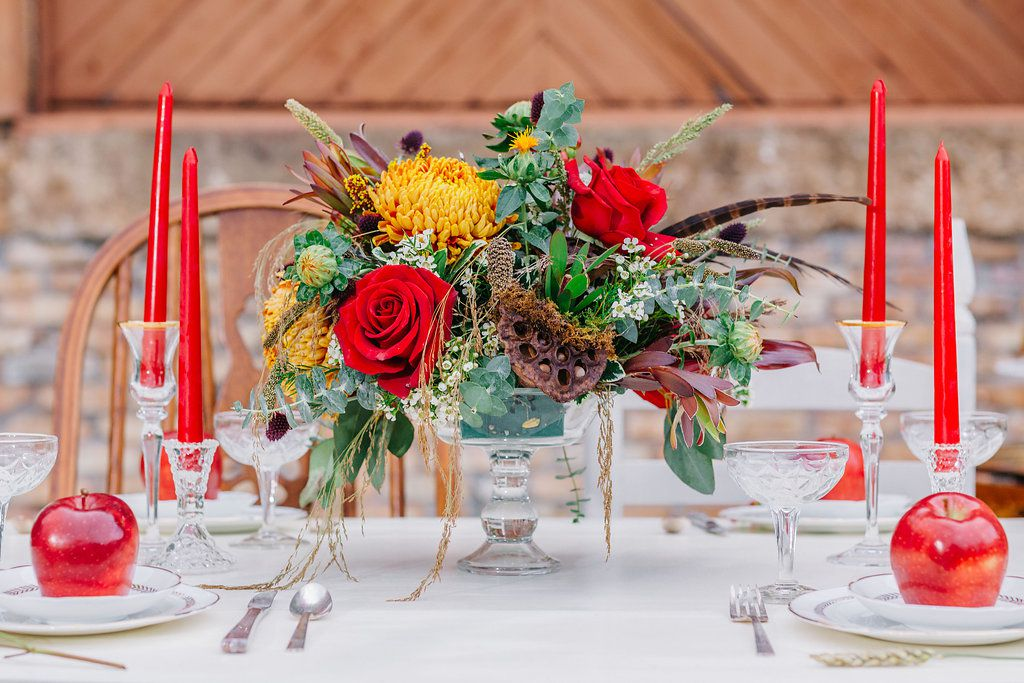 Harvest Red Wedding Inspiration