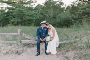 Outdoor Coast Guard Wedding
