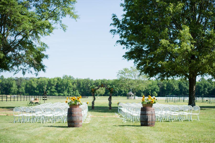 country wedding on horse farm   rustic wedding chic