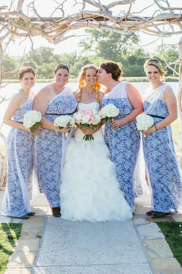 Unique Bridesmaid Dresses Country Wedding