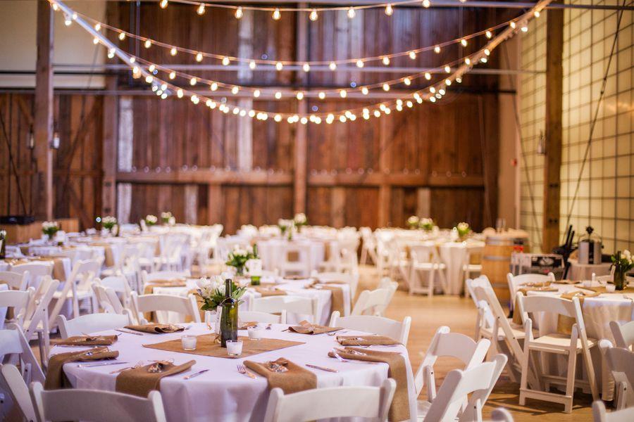 Chic Rustic Country Wedding: Romantic Barn Wedding