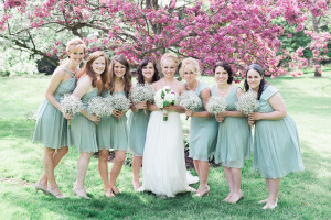 Mint Themed Country Wedding