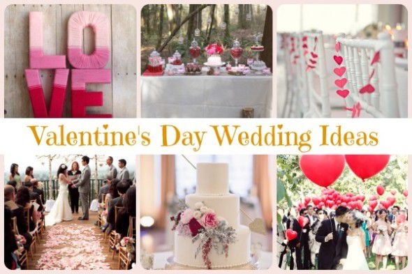 Valentine S Day Wedding Ideas