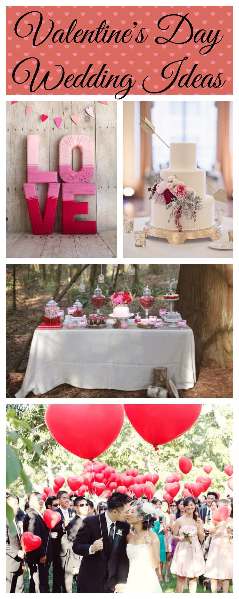 Valentine S Day Wedding Ideas Rustic Wedding Chic