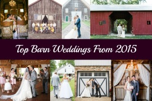 Top Barn Weddings From 2015