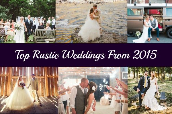 Top Rustic Weddings From 2015