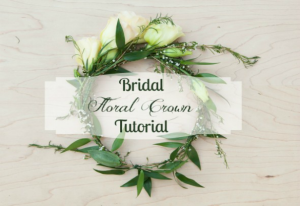 How to Make a Floral Wedding Crown