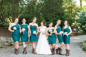 Travel Themed Country Wedding