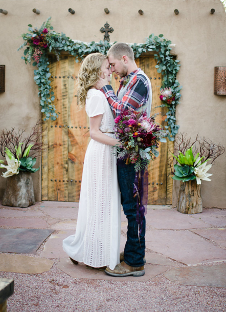 Western Boho Styled Wedding Shoot Rustic Wedding Chic