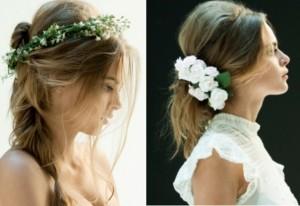 Top Ten Ways to Wear Flowers in Your Hair