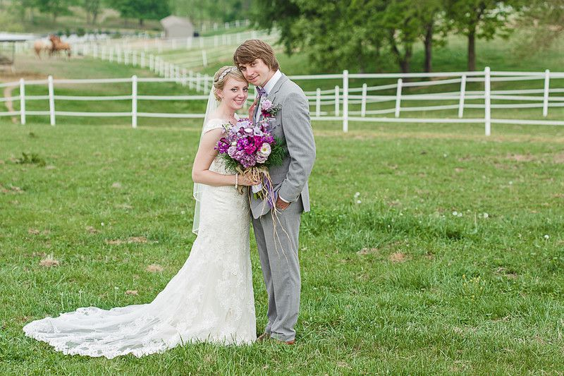 DIY Style Farm Wedding