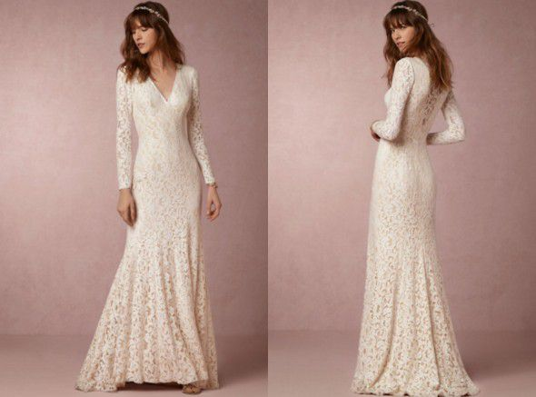 10 Perfect Wedding Dresses For A Barn Wedding