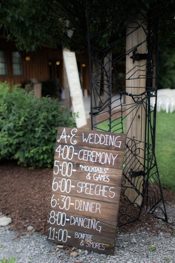 Old rustic wedding