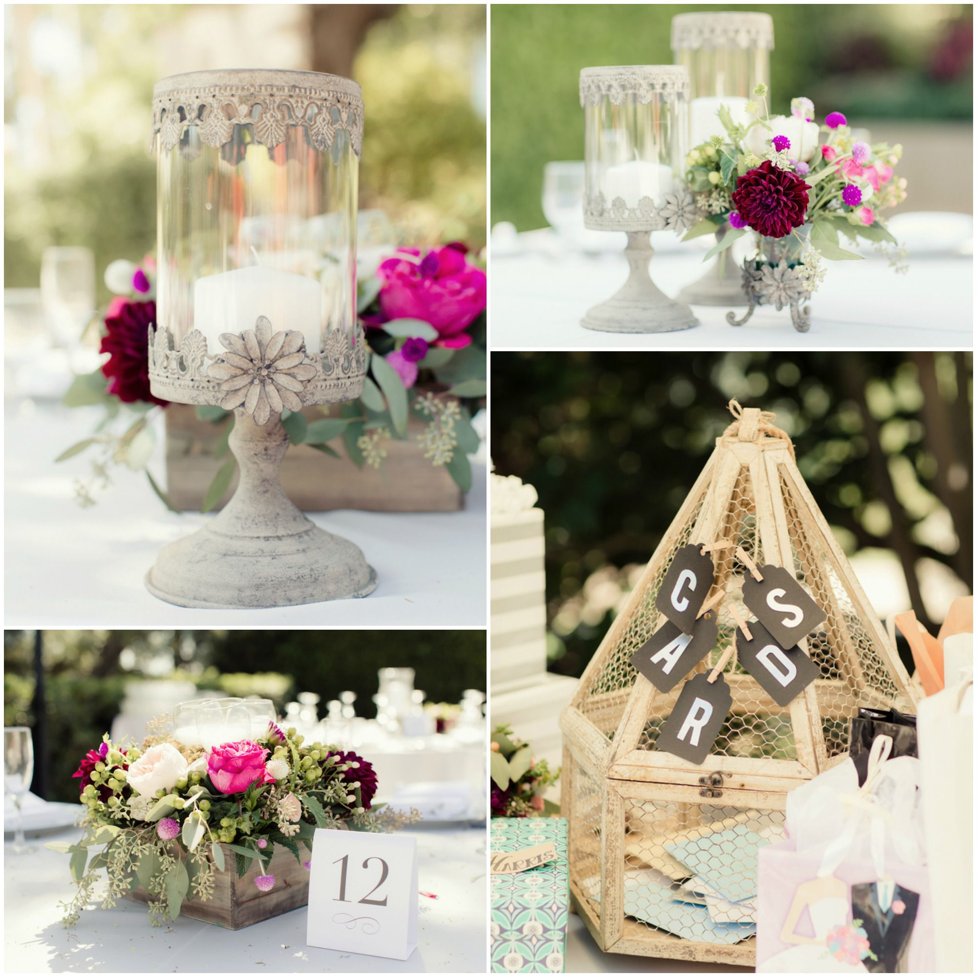 California Vintage Style Wedding Rustic Wedding Chic