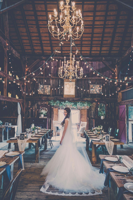 rustic elegant barn wedding