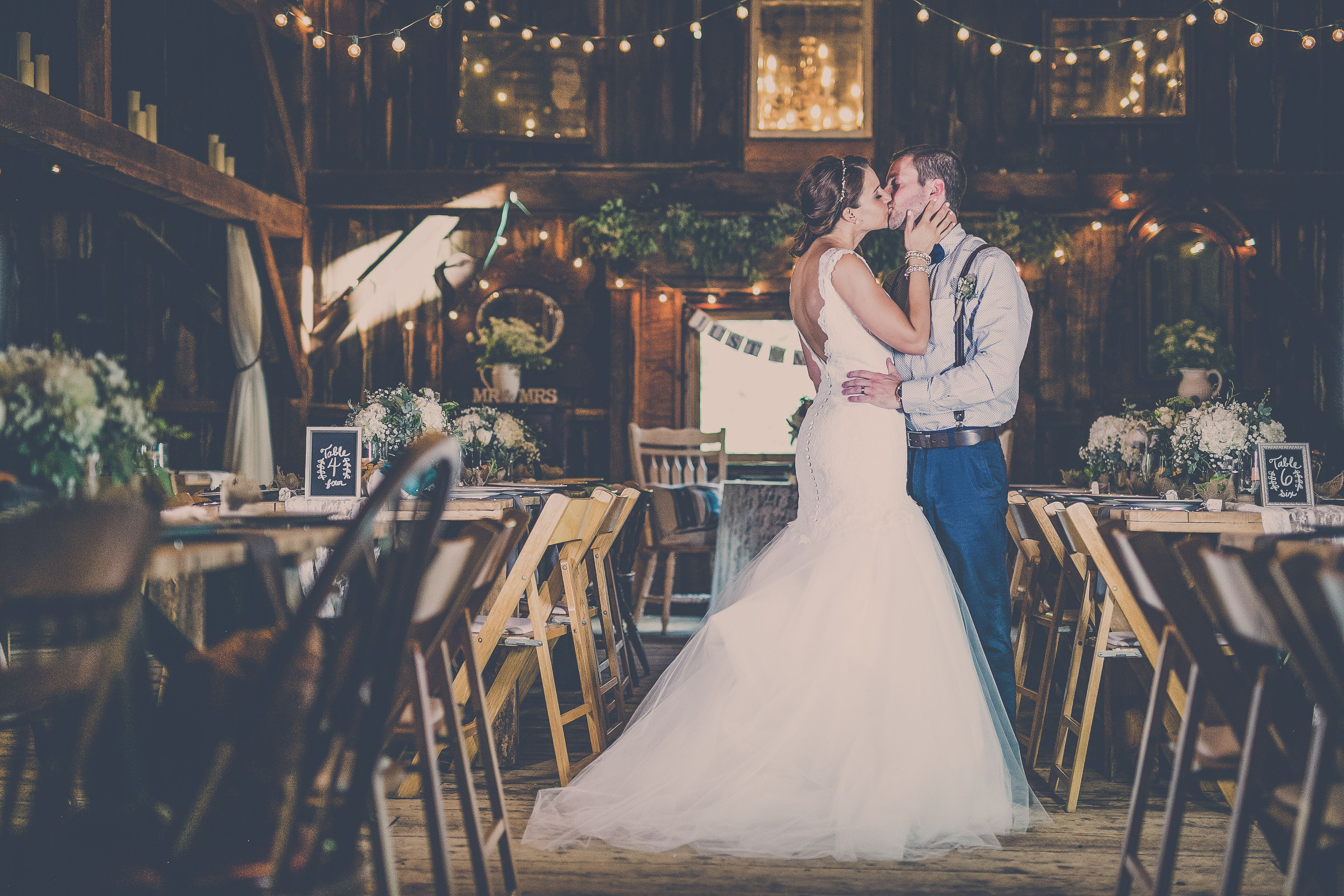 Elegant & Rustic Wedding