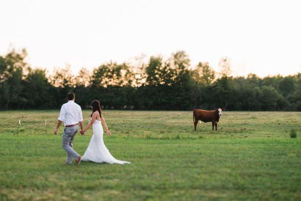 Agribank: Northern Michigan Farm Wedding