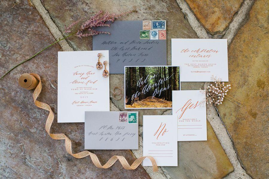 Woodland Wedding Inspiration - Rustic Wedding Chic