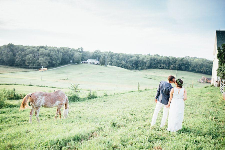 Elegant and amazing DIY farm wedding