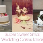 10 Super Sweet Small Wedding Cakes