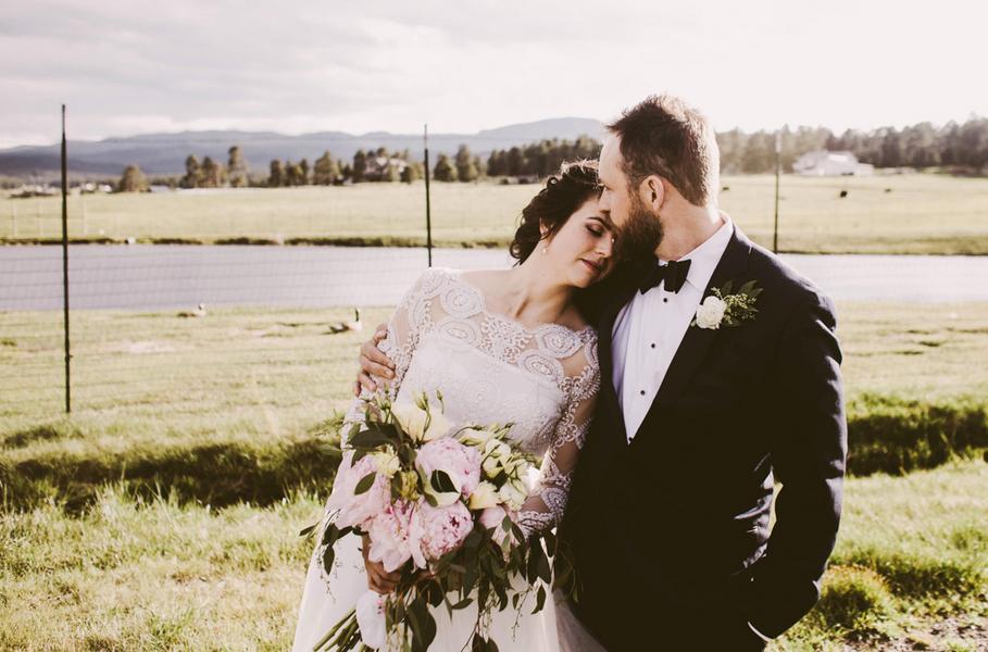 Rustic Colorado Wedding