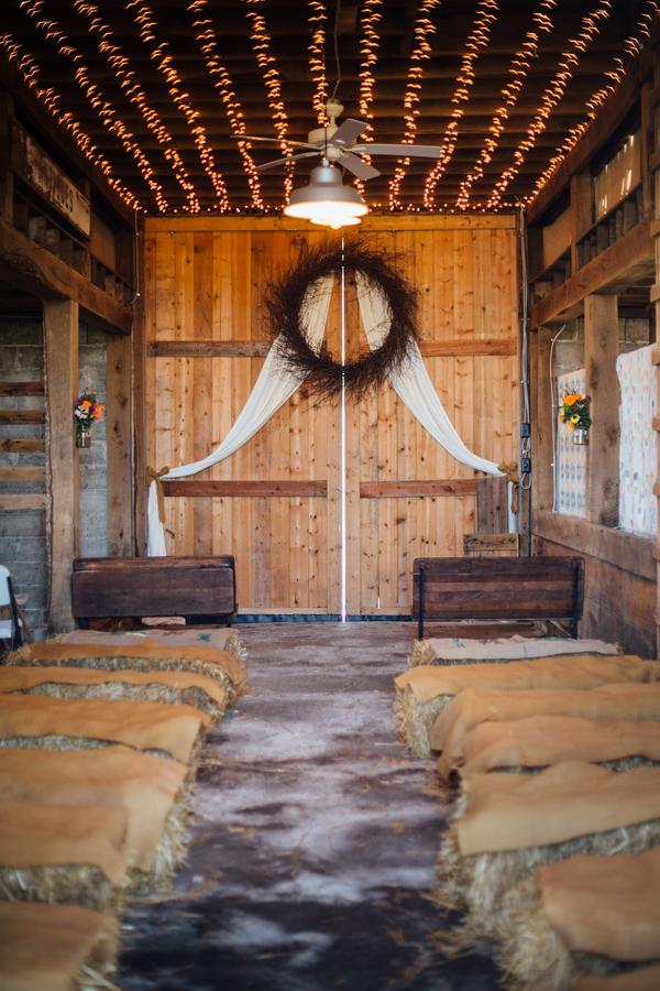 Fall Country Barn Wedding Rustic Wedding Chic