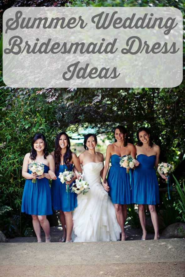 Summer Wedding Bridesmaid Dress Ideas