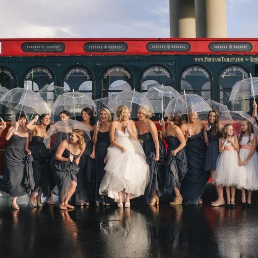 Rustic Urban Wedding