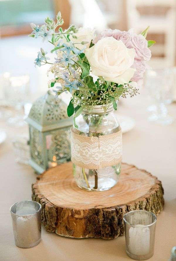 This is the best collection of rustic wedding ideas, featuring centerpieces, wedding cakes, aisle decor, wedding signs and much more! These rustic wedding ideas are affordable and easy to DIY. Rustic Wedding Ideas for Centerpieces Twine Wrapped Bottle Centerpiece Paint Stick Basket Twine Wrapped Mason Jar Flowers Baby's Breath in Twine and.