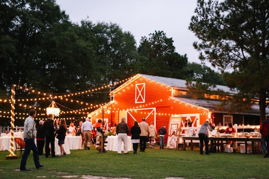 Country Rustic Alabama Barn Wedding