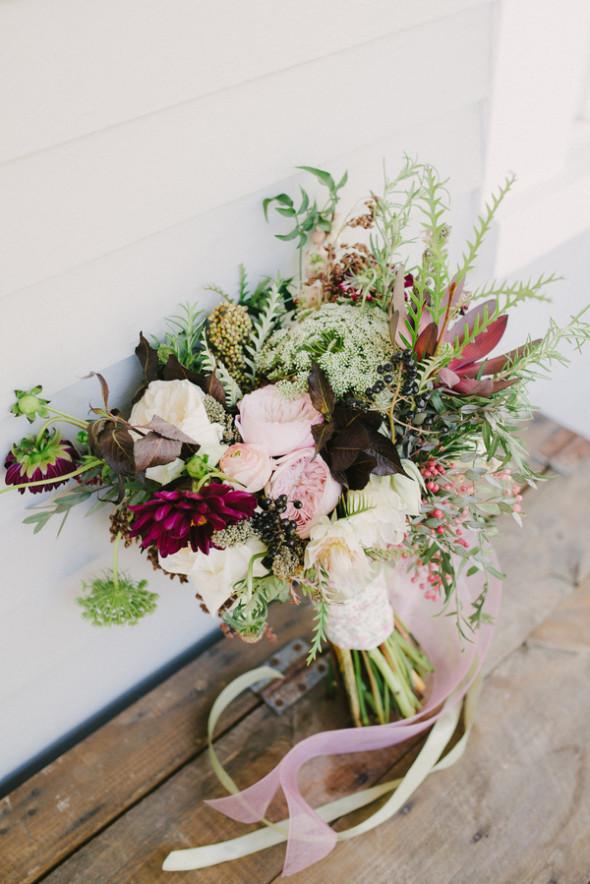 Rustic Wedding Flowers Names : New england fall wedding inspiration rustic chic