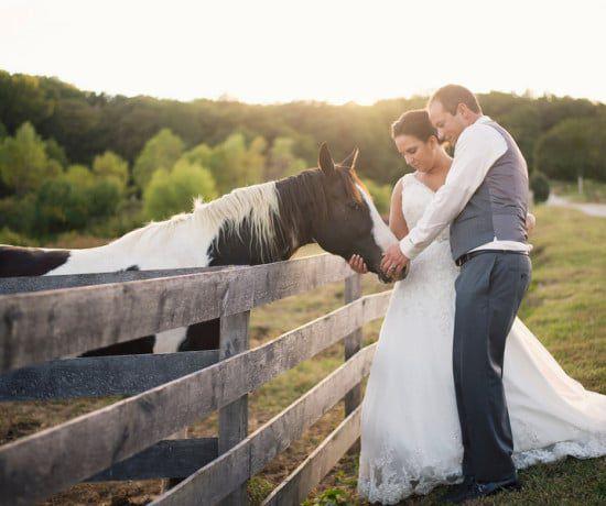 Western Rustic Wedding