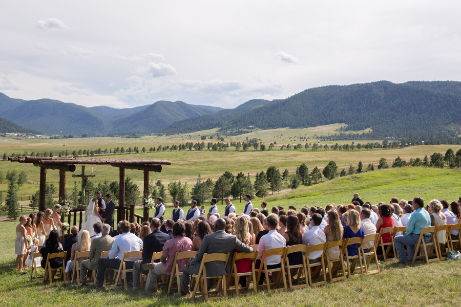 Spruce Mountain Ranch Wedding Rustic Chic