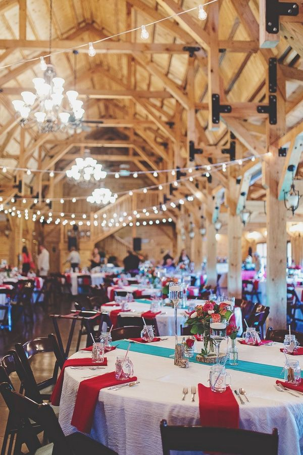Rustic Red & Turquoise Wedding - Rustic Wedding Chic