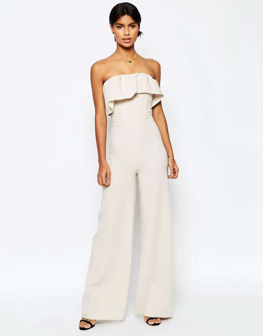 Bridal Jumpsuits For A Rustic Wedding