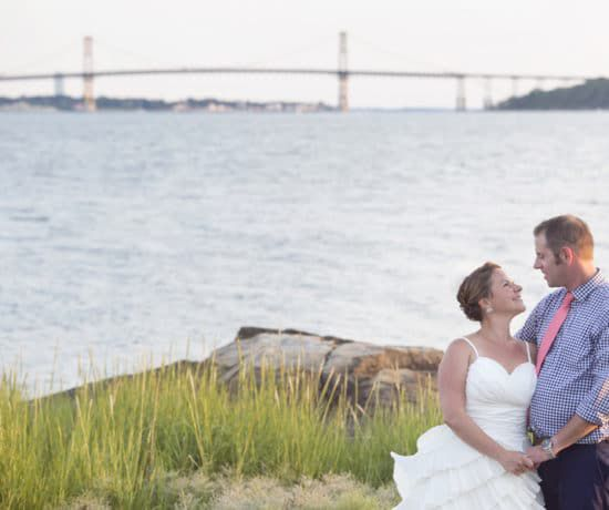 Beach Rhode Island Wedding