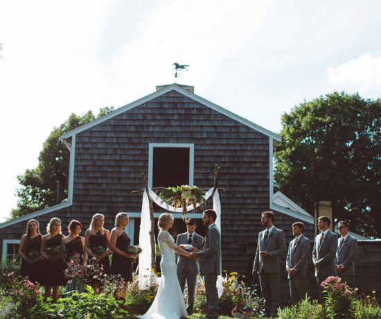Backyard Rustic Wedding