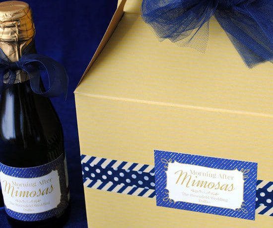 How To Make A Mini Mimosa Kit