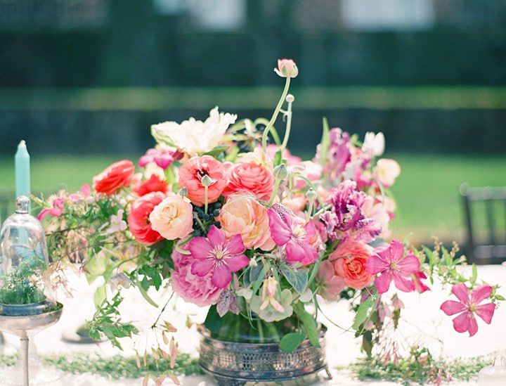 The Perfect Flowers For A Rustic Centerpiece Rustic Wedding Chic