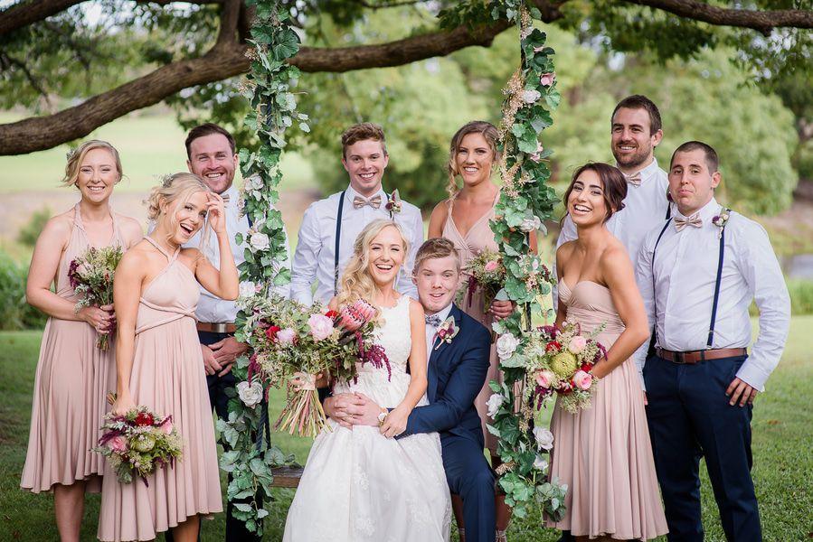 Chic Rustic Country Wedding: Boho Chic Rustic Wedding