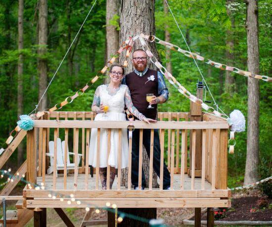 DIY Woodsy Wedding