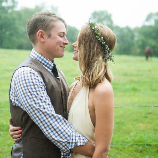 The Most Romantic Rustic Wedding