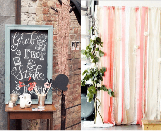 Instax Photo Booth Wedding Ideas