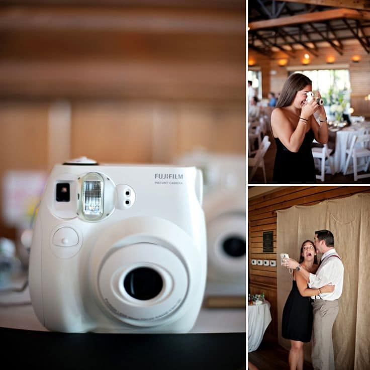 the new photo booth instax cameras are all you need rustic wedding chic. Black Bedroom Furniture Sets. Home Design Ideas