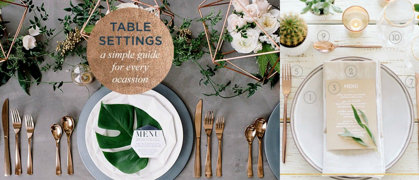 How To Set A Table For Every Occassion Rustic Wedding Chic