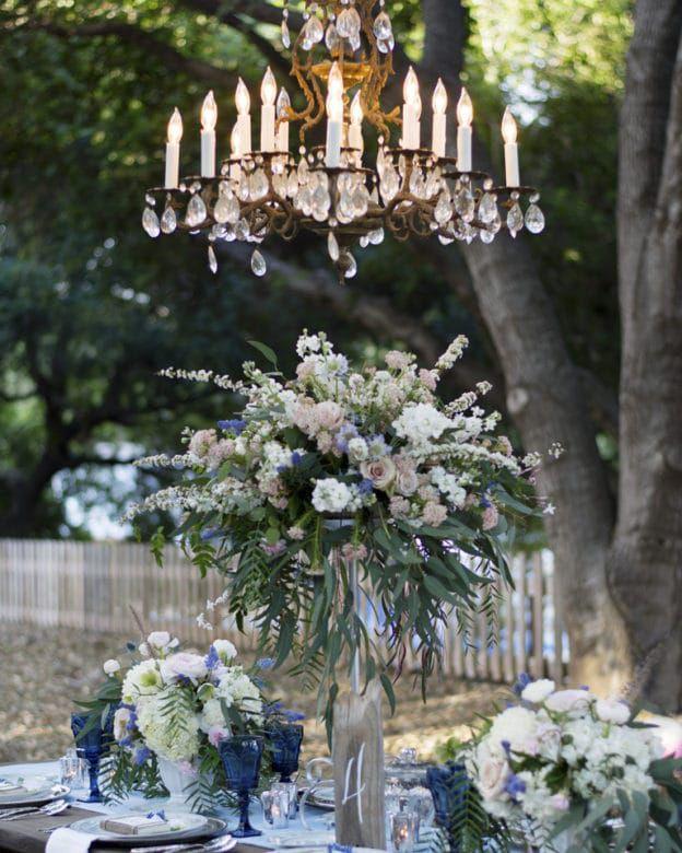 Burlap Wedding Ideas: Country Blue Wedding Inspiration