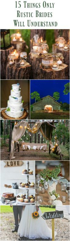 So Funny! 15 Things Only Rustic Brides Will Understand