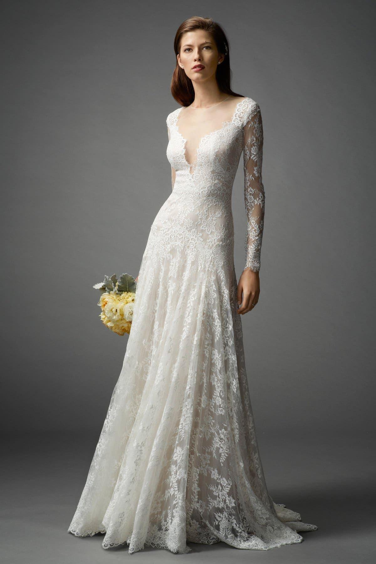 Long Sleeved Wedding Dresses We Love - Rustic Wedding Chic