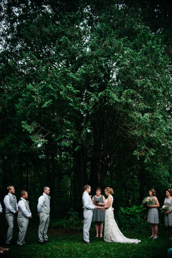 Rustic Wedding In The Woods Rustic Wedding Chic